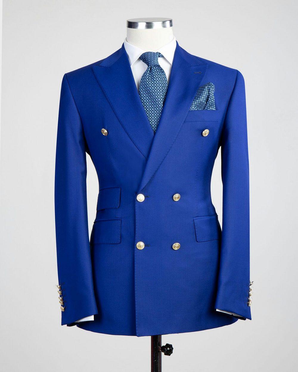The Hutchison Zaffre Blue Suit