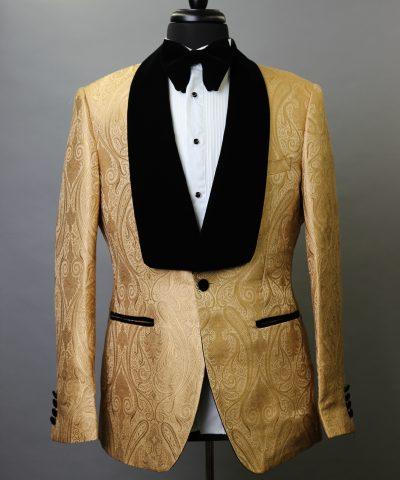 Gold Brocade Paisley