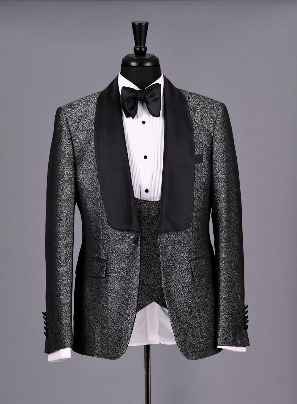 The Caldwell Silver Grey Tuxedo